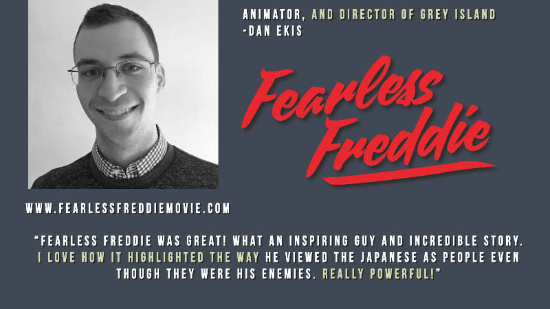 fearless freddie was great! what an inspiring guy and an incredible story...