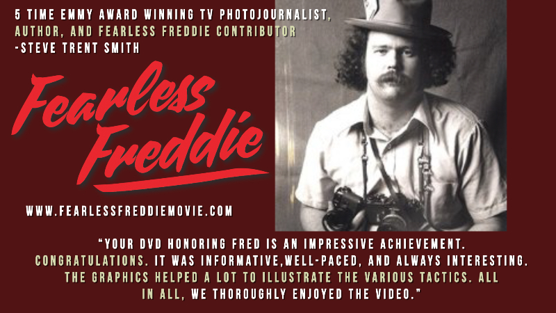 your dvd honoring fred is an impressive achievement. congratulations