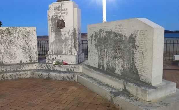 WWII Memorial in Boston Vandalized – Fearless Freddie